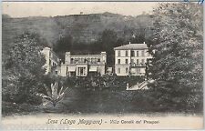 55833 -- CARTOLINA d'Epoca - LAGO MAGGIORE:  Lesa  1907