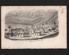 "OPC 1861 The Breakfast Encampment Sea of Galilee Arthur Hall 9.5x6"""