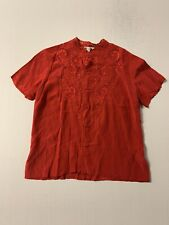New listing Vintage womens 1960's Silk blouse M Vintage