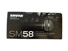 Shure SM58 Dynamic Cardioid Microphone