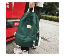 Waterproof Nylon Backpack School Bags Teenager Leisure Women Backpack Travel Bag