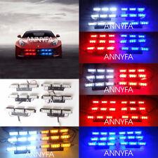 6X9 54 LED LED Strobe Light Bar Warning Flash Safety Emergency Lamps Car Grille