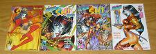 Manga Shi 2000 #1-3 VF/NM complete series + shiseiji one-shot - bad girl set