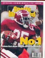 1992 Sports Illustrated Alabama Football Championship Commerative bxsic