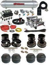 Complete Air Ride Suspension Kit GM 78-96 A B Body Car Accuair Vu4 AVS SwitchBox