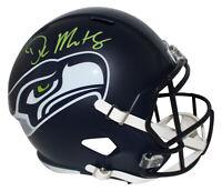 DK Metcalf Autographed/Signed Seattle Seahawks F/S Speed Helmet BAS 29582