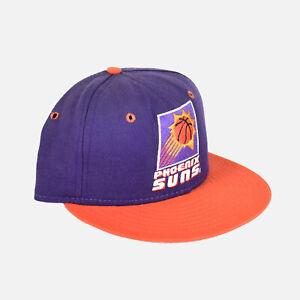 Phoenix Suns 90's Athletic Logo 5950 Pro Model Wool New Era Vtg NBA Fitted Hat