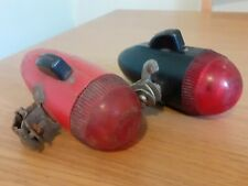Ever Ready Rear Battery Lamps x 2, Vintage Bicycle