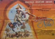 Michael Douglas JEWEL OF THE NILE(1986) Original UK quad movie poster