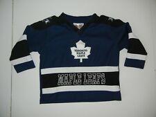 TORONTO MAPLE LEAFS Team Blue NHL HOCKEY JERSEY Sweater Shirt Sz Toddler 2T Baby