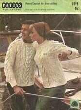 Patons Aran Sweaters/Clothes Crocheting & Knitting Patterns