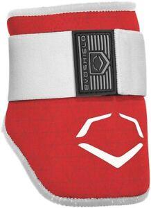 New EvoShield Adult EVOCHARGE Batter's Elbow Guard SR Red Baseball WTV6100