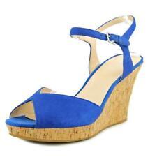Calzado de mujer de tacón alto (más que 7,5 cm) de color principal azul Talla 41