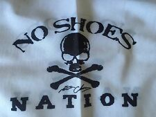 PIRATE FLAG  No shoes nation 12x18in  Kenny Chesney FANS real 2 Sided Parrot