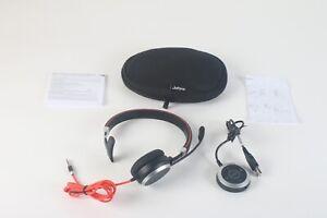 Jabra Evolve 40 Professional Verkabelt Headset HSC017 Für Anrufe Und Musik