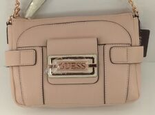 Women's GUESS Brand ROSE Pink SAFIYA CrossBody Handbag - $98 MSRP - 20% off