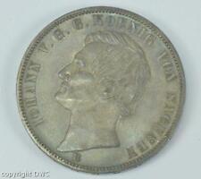 Coin Münze Siegestaler Johann König von Sachsen 1871 in Silber silver 11601
