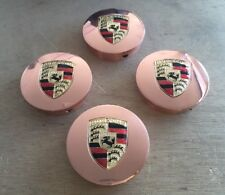 """HRE Wheel center caps Custom For Porsche Real copper Fit All Series Size 2.5""""(4)"""