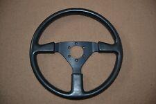 Momo BLACK Leather Steering Wheel