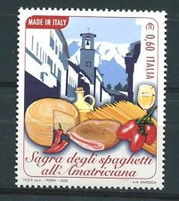 Italia 2008 Made in Italy la sagra degli spaghetti all'Amatriciana MNH