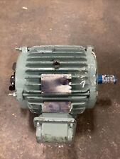 Teco C1d2 Motor 10hp 230460v 3500 Rpm 1 38 Aehh8n 215t Inverter Damaged