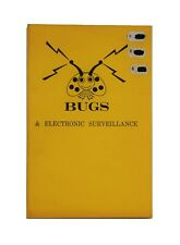Vintage Book Bugs & Electronic Surveillance 1976 Desert Publications