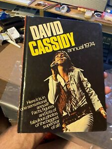David Cassidy Annual 1974 (Hardcover, UK) VG Cond.