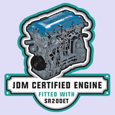 Nissan SR20DET Engine JDM Vinyl Decal Sticker