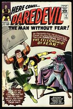 Daredevil #6 Good Condition, by Stan Lee, WallyWood, Mr. Fear