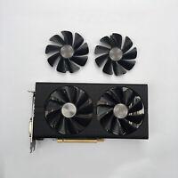 Für Sapphire RX470 RX480 RX570 RX580 RX590 GPU Grafikkarten Fan Cooling Lüfter