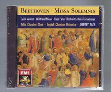 BEETHOVEN CD (NEW) MISSA SOLEMNIS / JEFFREY TATE/ CAROL VANESS