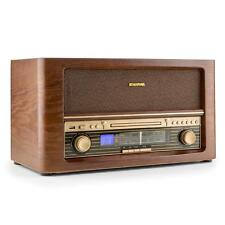 Retro Stereo Speaker System Radio AM FM USB Portable CD MP3 Player Vintage Combo