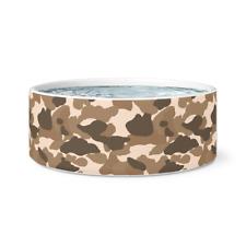 Camo accessories - Ceramic Dog Bowl - Cute Dog Bowls - Camo room decor