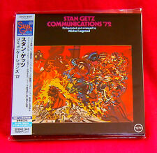 Stan Getz Communications 72 JAPAN MINI LP CD UCCV-9107