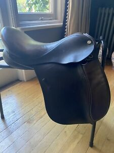 Native Pony Saddle 16 Inch brown