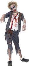 Smiffys Costume Zombie Scolaro comprende Pantaloni Giacca Camicia (l7i)