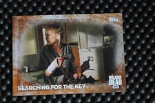 THE WALKING DEAD SEASON FIVE BASE SET TRADING CARDS RUST PARALLEL CARD #22 23/99