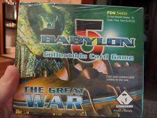 Babylon 5 CCG: The Great War Booster Box Sealed