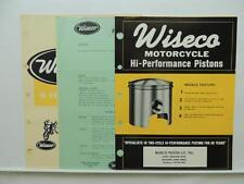 Wiseco Motorcycle Piston Catalog Order Form Price List Yamaha Zundapp L9211