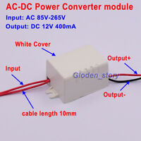 Mini AC-DC Buck Converter AC 110V 220V 230V to DC 12V 400mA Power Supply Module