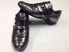 Women's Janet Sport Italian Sneaker Shoe Silver Metallic Size 39 Or US 8.5 ~