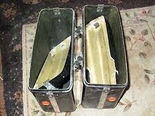 CRAVEN COMET Saddle Bag set Right crushed lid BMW R69S Vincent BSA Velocette MSS