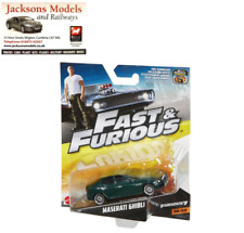 Hot Wheels FCF54 Maserati Ghibli Fast & Furious 7 Mattel 2017 1:55 Scale