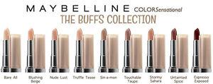 Maybelline Color Sensational Nudes Lipsticks NEW & SEALED + FREE P&P