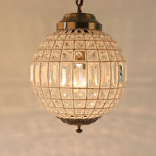 Single Royal French Empire Style Led Crystal Ball Chandelier Pendant Lamp Lights