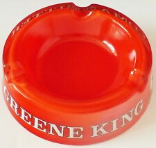 GREENE KING YEOMAN BITTER GLASS ASHTRAY. EXCELLENT. UK DISPATCH