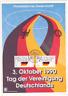 Deutsche Einheit 3. Oktober 1990 ETS BRD Mi 1477 1478 Gedenkblatt DIN A 5