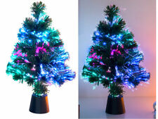 Mini Weihnachtsbaum Led-weihnachtsbaum mit Glasfaser-farbwechsler 45cm