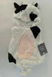 NWT Pottery Barn Kids Baby Cow costume 12-24 months Halloween