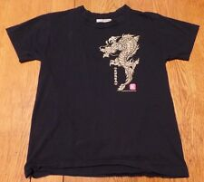 #2027-6 Korea Dragon Illustrated by Sung Tae Kim Graphic T-Shirt S